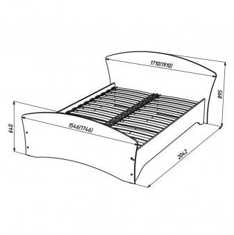 Кровать Кр-3