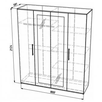 Шкаф многофункциональный ШМ-4